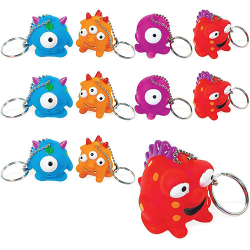 Monster Keychains 24ct Image #1