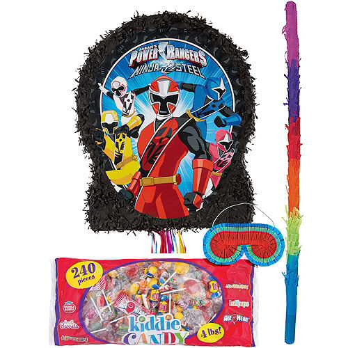 Power Rangers Pinata Kit Image #1