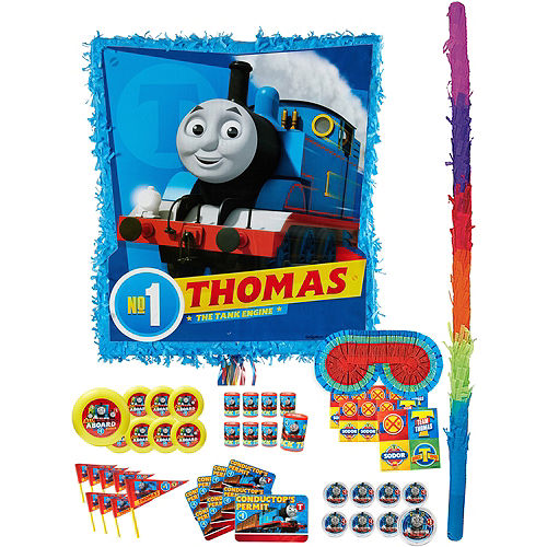 Thomas the Tank Engine Pinata Kit with Favors Image #1
