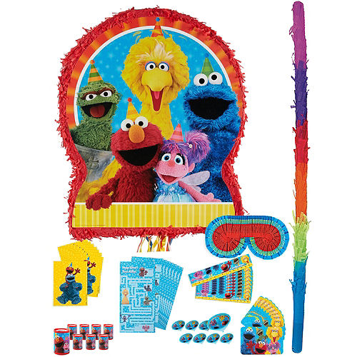 Sesame Street Pinata Kit with Favors Image #1