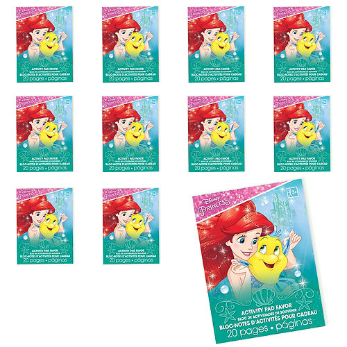 Little Mermaid Coloring Books 48ct Image #1