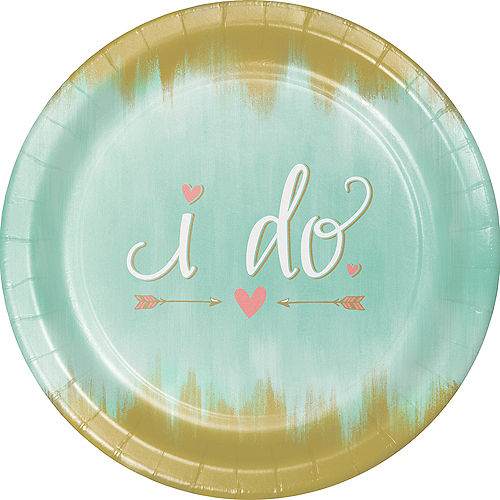 Mint to Be Dinner Plates 8ct Image #1