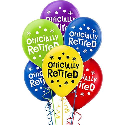 Happy Retirement Celebration Decorating Kit with Balloons Image #4