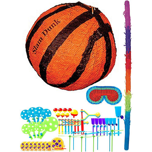 Basketball Pinata Kit with Favors Image #1