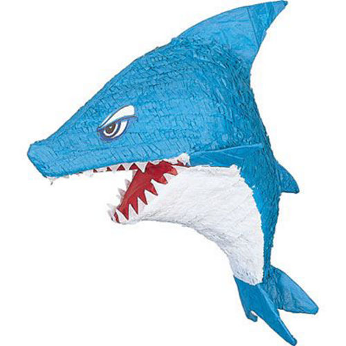 Nav Item for Shark Pinata Kit with Favors Image #3
