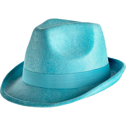 Turquoise Fedora Image #1