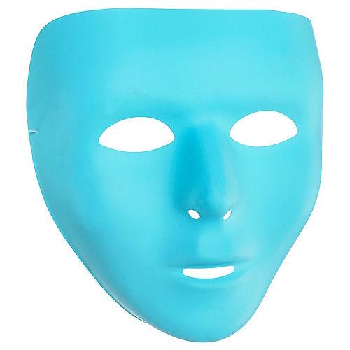 Turquoise Face Mask Image #1