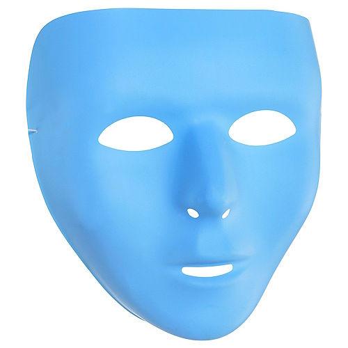 Light Blue Face Mask Image #1