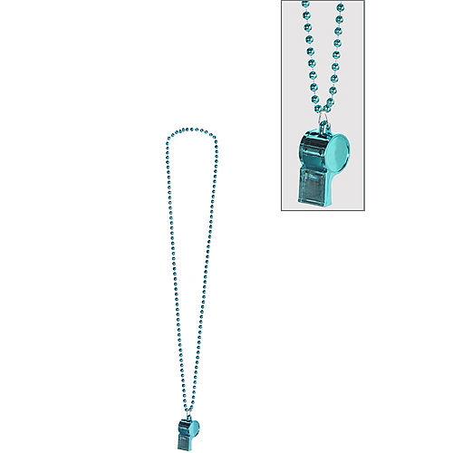 Light Blue Whistle Necklace Image #1