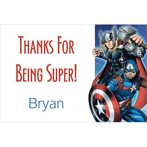 Custom Epic Avengers Thank You Note Image #1