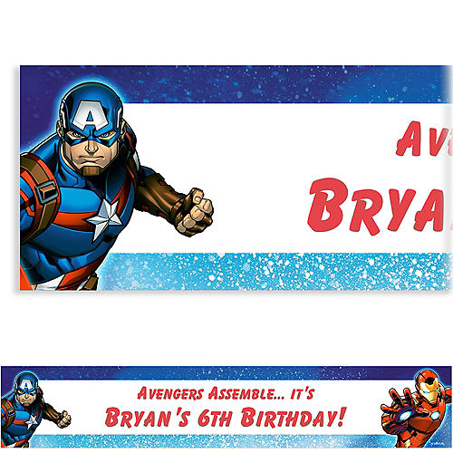 Nav Item for Custom Epic Avengers Banner Image #1