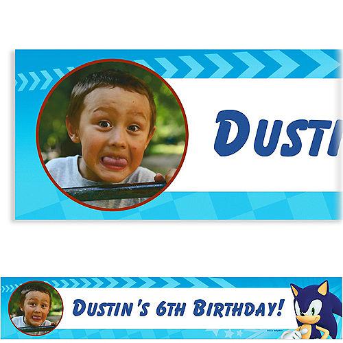 Custom Sonic the Hedgehog Photo Banner Image #1