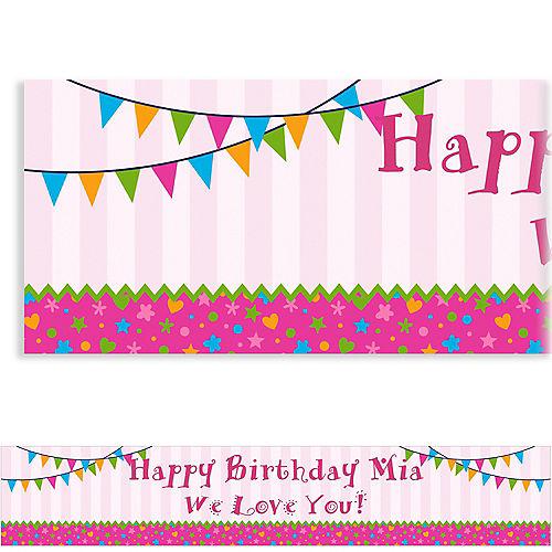 Custom Playful Pink Banner Image #1