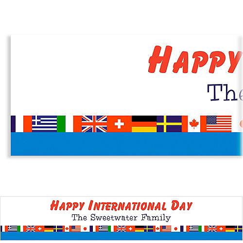 Custom World Flags Banner Image #1