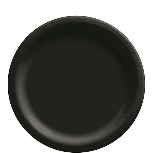 Black Paper Tableware Kit for 50 Guests Image #3