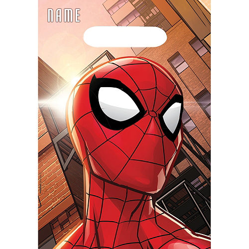 Spider-Man Webbed Wonder Favor Bags 8ct Image #1