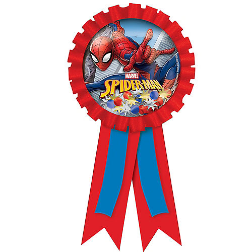 Spider-Man Webbed Wonder Award Ribbon Image #1