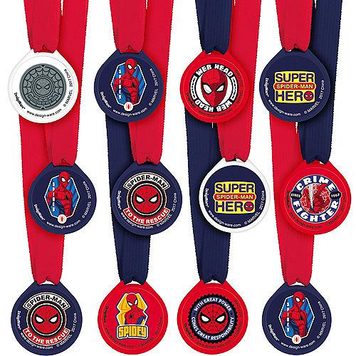 Spider-Man Webbed Wonder Award Medals 12ct Image #1