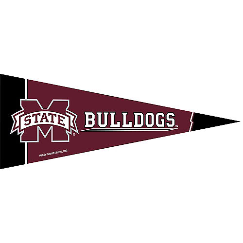 Small Mississippi State Bulldogs Pennant Flag Image #1