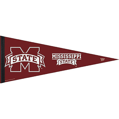 Mississippi State Bulldogs Pennant Flag Image #1