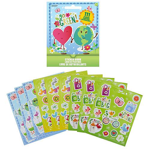 Go Green Sticker Book 9 Sheets Image #1