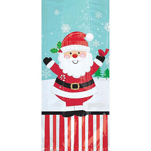 Large Jolly Santa Treat Bags 20ct Image #1