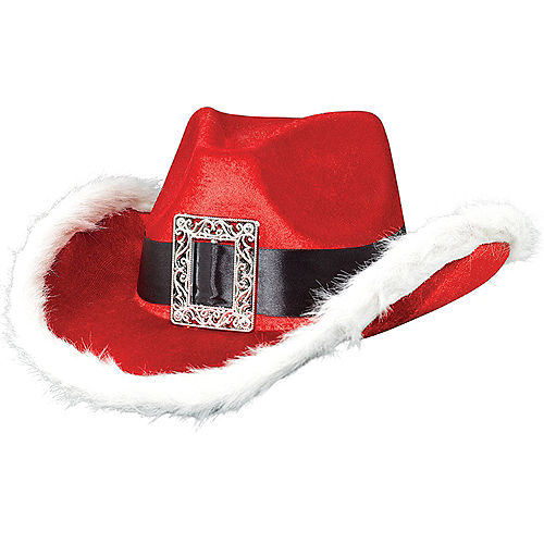 Santa Cowboy Hat Image #1
