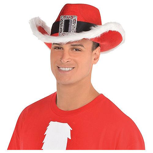 Santa Cowboy Hat Image #2