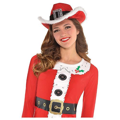 Santa Cowboy Hat Image #3
