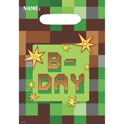 Pixelated Basic Favor Kit for 8 Guests Image #2