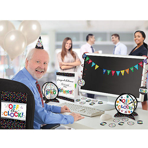 Retirement Office Decorating Kit 29pc Image #1