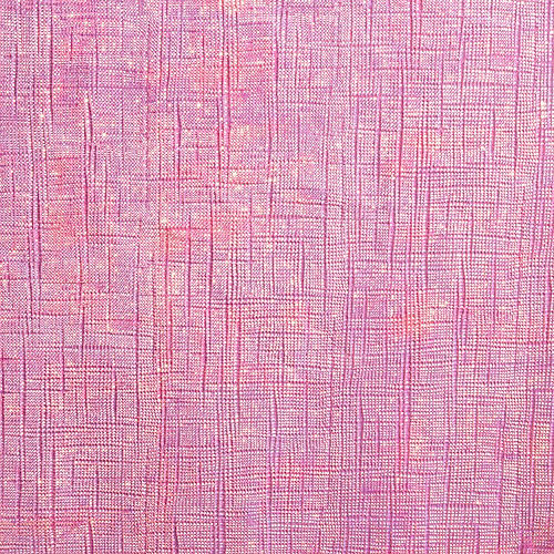 Bright Pink Iridescent Paper & Plastic Table Cover, 54in x 102in Image #2