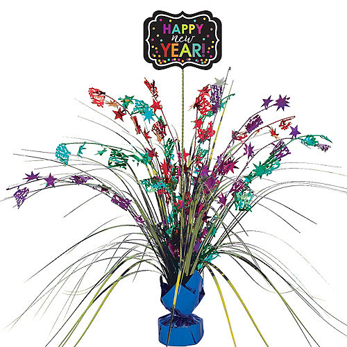 Colorful New Year's Spray Centerpiece Image #1