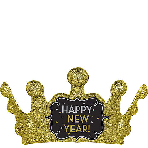 Glitter Gold New Year's Crown Image #1