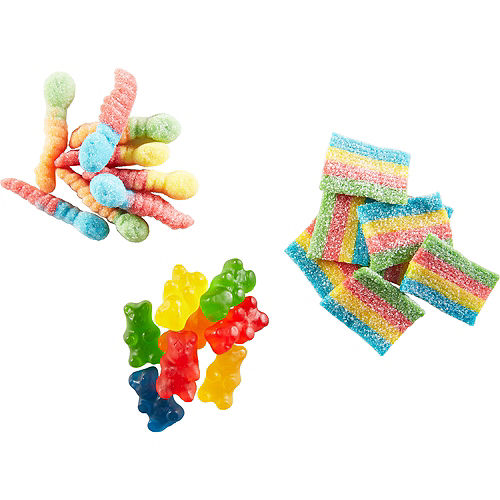Crayola Assorted Gummies Candy Pouches 22ct Image #3
