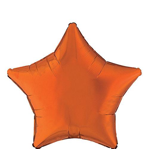 Orange Star Balloon, 19in Image #1