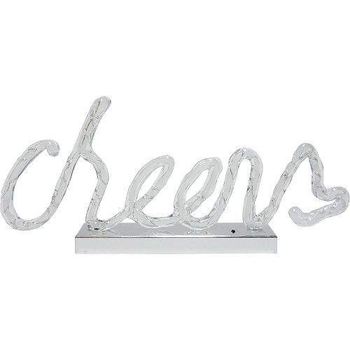 Light-Up Cheers Sign Image #1