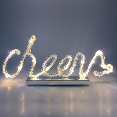 Light-Up Cheers Sign Image #2