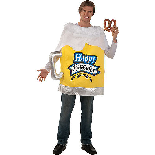 Adult Beer Mug Costume Image #1