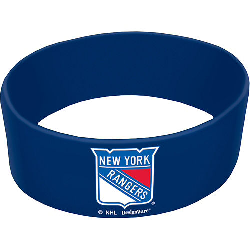 New York Rangers Wristbands 6ct Image #1