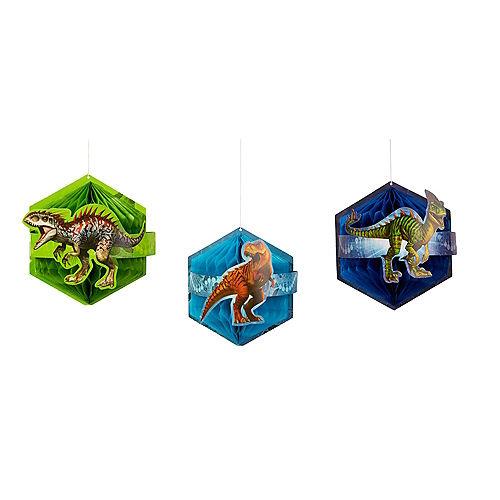Jurassic World Honeycomb Balls 3ct Image #1