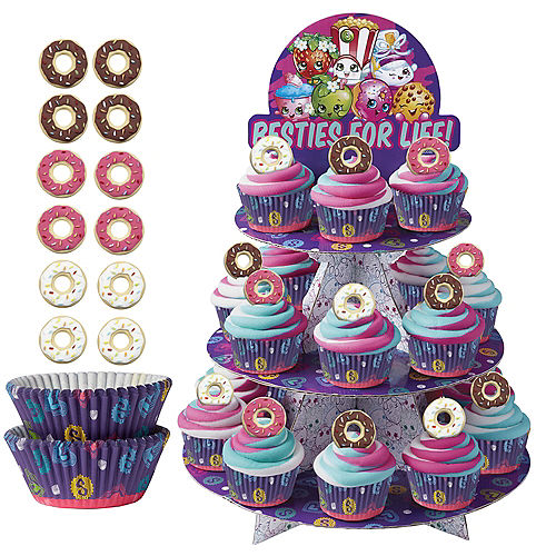 Deluxe Shopkins Cupcake Kit for 24 Image #1