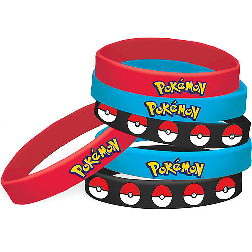 Nav Item for Pokemon Core Wristbands 4ct Image #1