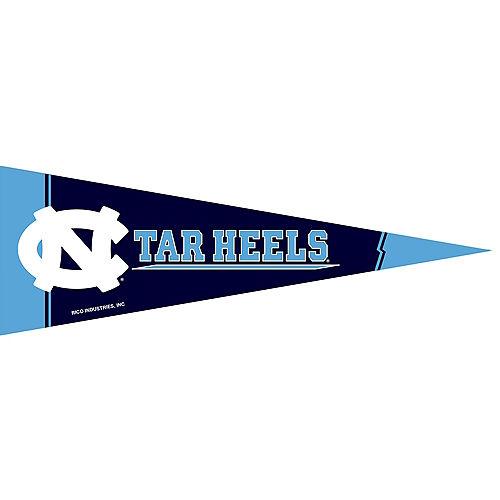 Small North Carolina Tar Heels Pennant Flag Image #1