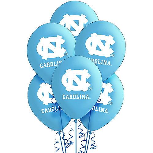 North Carolina Tar Heels Balloons 10ct Image #1