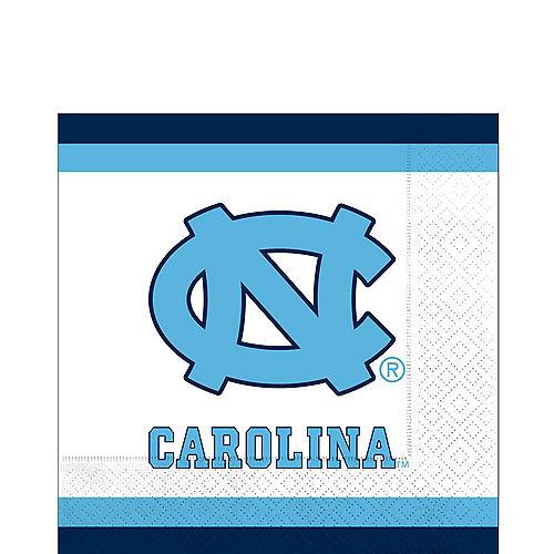 North Carolina Tar Heels Lunch Napkins 20ct Image #1