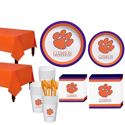 Clemson Tigers Party Kit for 40 Guests Image #1