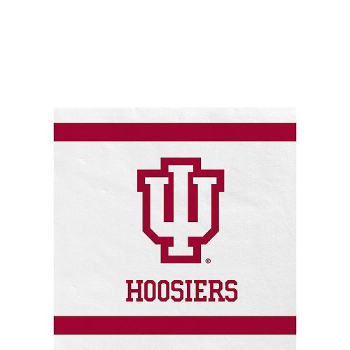 Indiana Hoosiers Party Kit for 40 Guests Image #4