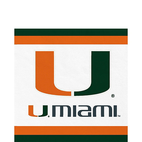 Miami Hurricanes Party Kit for 40 Guests Image #5