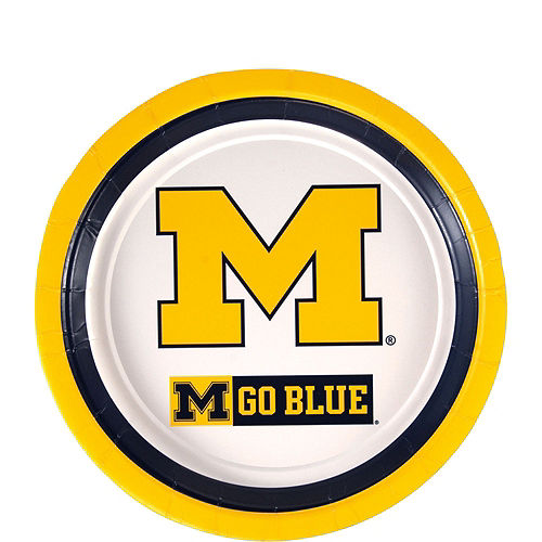 Michigan Wolverines Party Kit for 40 Guests Image #2
